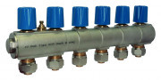 MANIFOLD,W/FLOWMETER,.ECA02,1'',4 OUT COLD